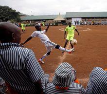 World Cup in Kenya prison