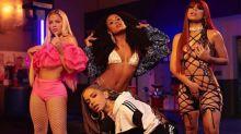 Que poder! Lexa, Anitta, Sonza e Mc Rebecca gravam clipe