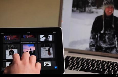 Adobe Nav for iPad and Photoshop video demo