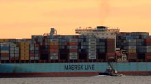 Maersk warns on trade risks as disappointing first-quarter earnings hit share price