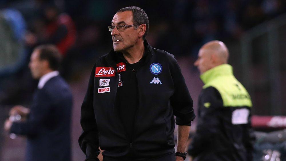 Sarri sfida la Juventus e un tabù: il suo Napoli mai qualificato nei 180 minuti