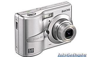 Five megapixel Sanyo S50 hits Germany for €100