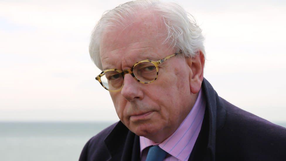 David Starkey: Police end investigation into interview with Darren Grimes