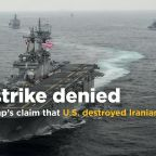 Iran denies Trump claim that U.S. warship destroyed Iranian drone