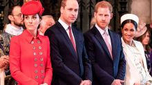 Will and Kate afraid of being 'overshadowed' by Harry and Meghan
