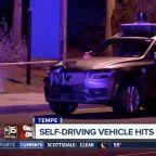Driverless Uber car kills female pedestrian in first deadly crash