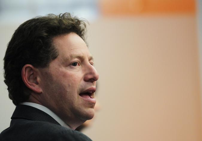 Bobby Kotick, Chief Executive Officer of Activision Blizzard, speaks at the Reuters Global Media Summit in New York November 30, 2010.  REUTERS/Brendan McDermid (UNITED STATES - Tags: MEDIA BUSINESS SOCIETY)