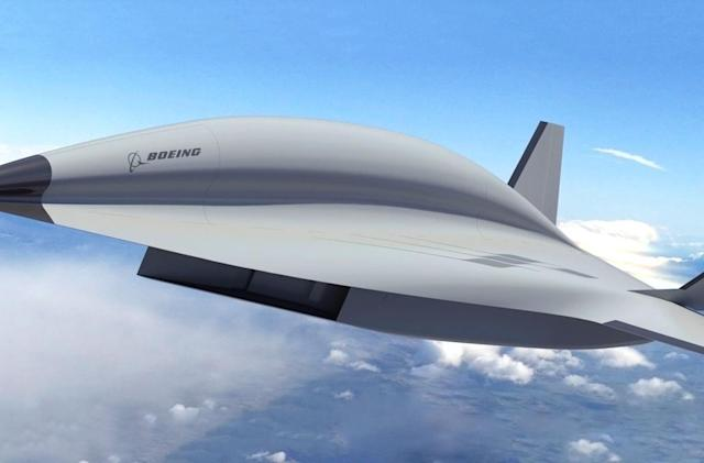 Boeing shows its vision for a hypersonic spy aircraft