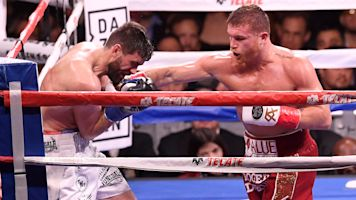 Canelo Alvarez utterly dominates Fielding