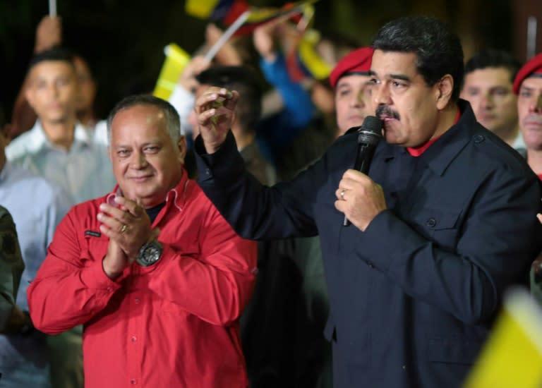 Elections au Venezuela: victoire du camp Maduro, l'opposition conteste