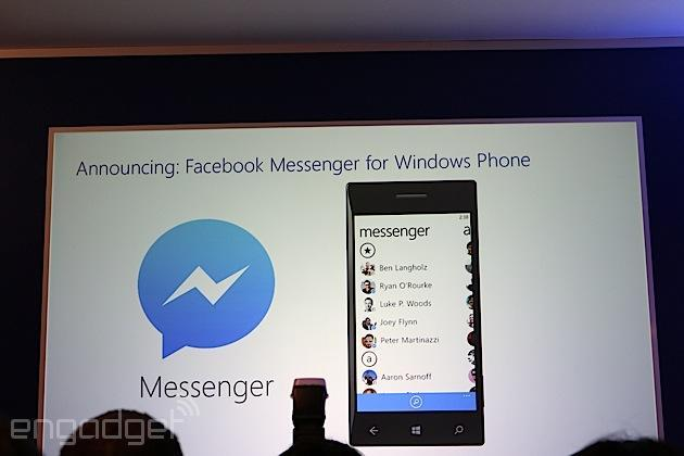 Facebook Messenger coming to Windows Phone in the next few weeks