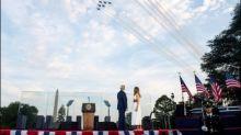 Trump greift in Rede zum Unabhängigkeitstag seine politischen Gegner