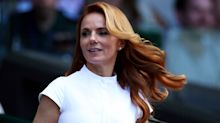 Geri Halliwell can't stop wearing this chic white swimsuit