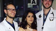 Salma Hayek Went To A&E Wearing A Brilliantly Inappropriate T-Shirt