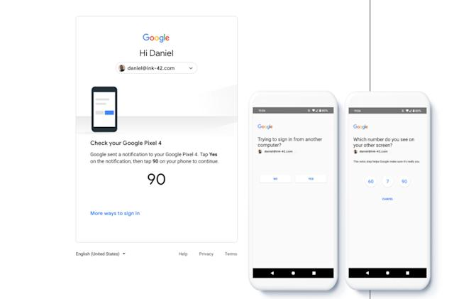 Google will default to phone notifications for two-factor sign-ins