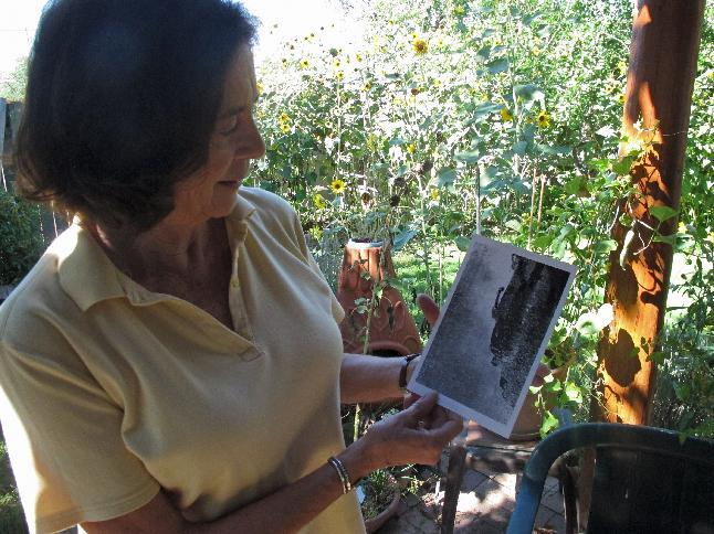 In this Aug. 21, 2013 photo, Maria Varela, 73, discusses her role in the Civil Rights movement in Alabama and Mississippi and her photography, at her home in Albuquerque, N.M. While Varela was one of a handful of Mexican-American activists involved in the civil rights movement in the South, she did not support the 1963 March on Washington. She was a member of the Student Nonviolent Coordinating Committee and later became a photographer for the group. (AP Photo/Russell Contreras)