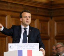 Germany's SAP backs Macron with 2 billion euro French spending plan