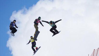 Coppa del mondo di snowboardcross, Visintin e Perathoner vincono gara a squadre a Erzorum