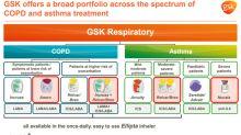 GlaxoSmithKline Has Developed a Broad Respiratory Portfolio