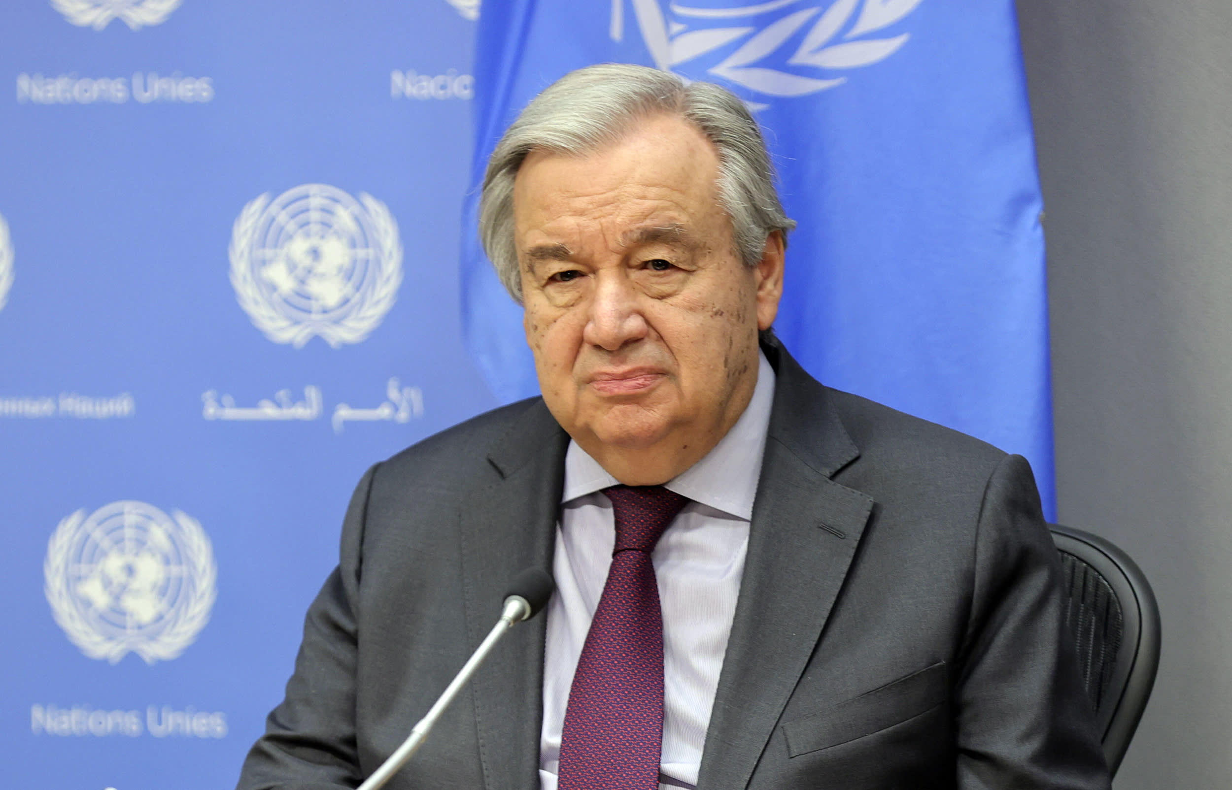 'We are at the breaking point', U.N. chief says in call to end inequalities