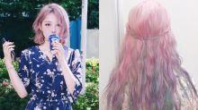 寶石色、獨角獸髮色!2018春夏染髮提案