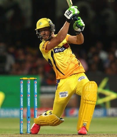 Faf du Plessis in action for CSK (picture courtesy: BCCI/iplt20.com)