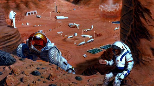 Study: NASA can't afford a trip to Mars, but deserves the cash to do it