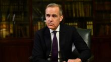 Carney sees silver lining after Brexit hit to UK economy