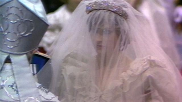 Diana and Charles' royal wedding prayer