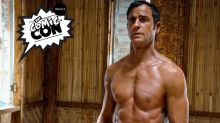 Justin Theroux on That Nearly Naked 'Leftovers' Poster: 'Sorry, Mom'