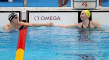 Katie Ledecky fails to medal in the 200 freestyle