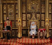 Queen Elizabeth II gives speech following husband's death