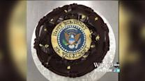 Check Out President Obama`s Surprise Birthday Cake