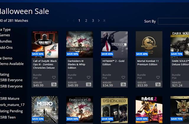PlayStation's Halloween sale includes 'Dark Souls 3' and 'Devil May Cry 5'