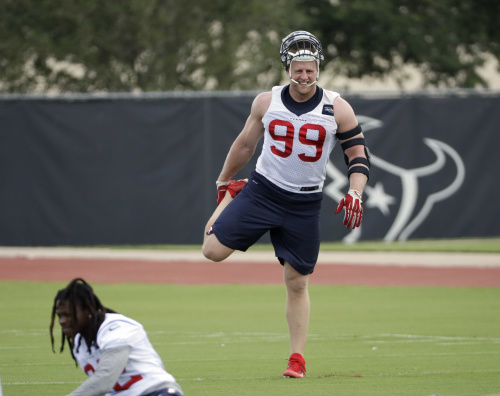 J.J. Watt is returning from an injury-filled 2016 season. (AP)