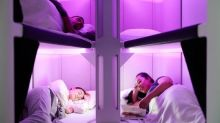 Air New Zealand could soon have lie-flat bunk beds in economy class