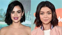 Lucy Hale Has Red Hair Now, and Sarah Hyland Thinks They're Twins