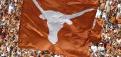 The Texas Longhorn flag.  (AP Photo/Brandon Wade)