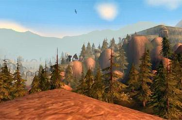 Around Azeroth: Jintha'Alor in the distance