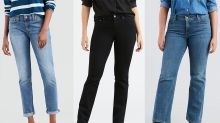 Levi's most flattering anti-skinny jeans are 50% off at Walmart right now