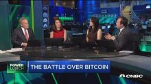 Bitcoin battle rages on