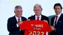Presidente do Benfica ironiza desejo de Jesus por reforços: 'Dizer que quer, ele pode dizer que quer até o Pelé'
