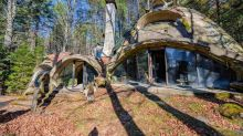 You could live in this 'hobbit' house made of mud – for $220,000