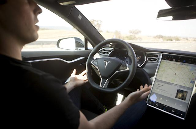 NTSB: Video shows owner getting into driver's seat before fatal Tesla crash