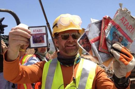 Microsoft's E.T. game excavation hits paydirt