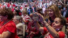 The Latest: Trump rallies Hispanic supporters in Arizona
