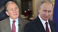 George W. Bush: U.S. should be tough on Russia — 'not belligerent, but forceful'