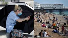 'Edge of losing control': Country's virus warning as heatwave grips