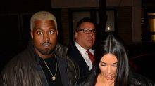 En plan romántico Kim y Kanye
