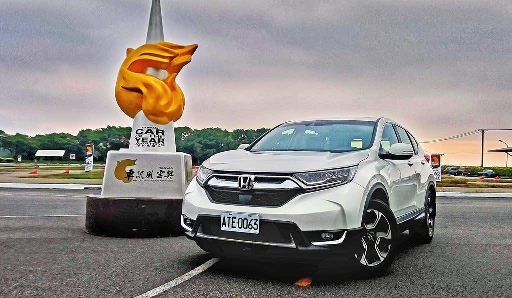 2018台灣風雲車:HONDA CR-V出線搶盡鋒頭,證明SUV仍是主流